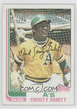 1982 Topps #578 - Shooty Babitt