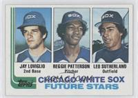 Jay Loviglio, Reggie Patterson, Leo Sutherland