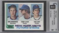 New York Mets Future Stars (Ron Gardenhire, Terry Leach, Tim Leary) [GAI 8]