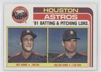 Art Howe, Nolan Ryan