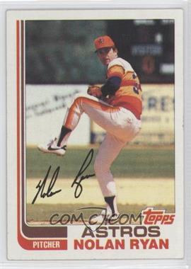 1982 Topps #90 - Nolan Ryan