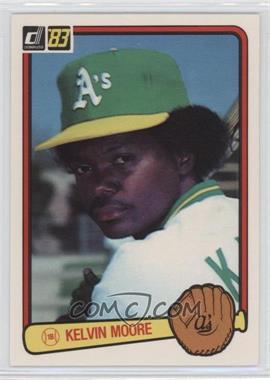 1983 Donruss - [Base] #87 - Kelvin Moore