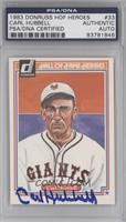 Carl Hubbell [PSA/DNA Certified Auto]