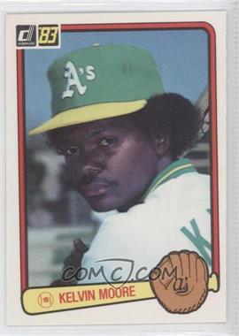 1983 Donruss #87 - Kelvin Moore
