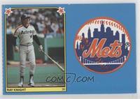 Ray Knight, New York Mets Team Logo