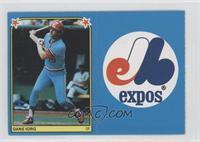 Dane Iorg, Montreal Expos Team Logo