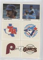 Randy Martz, Al Williams, Rangers, Blue Jays, Phillies, Giants