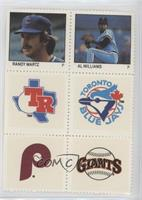 Randy Martz, Al Williams, Rangers, Blue Jays, Phillies, Giants