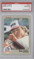 Ron Kittle [PSA 10]