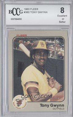 1983 Fleer #360 - Tony Gwynn [ENCASED]