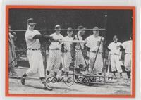 Al Watches Gordie Howe Swing a Bat