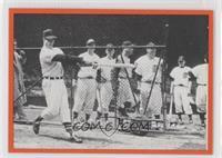 Al Watches Gordie Howe Swing a Bat
