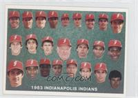 Indianapolis Indians Team