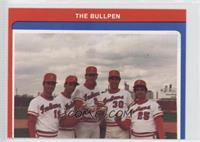 Bob Buchanan, Rick Camp, Brad Lesley, Joe Edelen, Brendan Ryan, Rich Carlucci, …