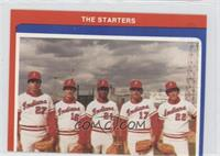The Starters (Mike Dowless, Greg Harris, Freddie Toliver, Jeff Russell, Charlie…