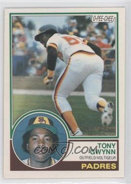 1983 O-Pee-Chee #143 - Tony Gwynn