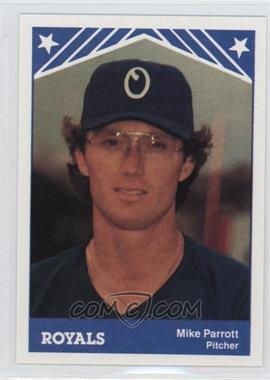 1983 TCMA Omaha Royals #7 - Mike Parrott
