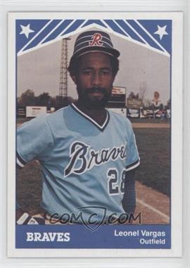 1983 TCMA Richmond Braves - [Base] #21 - Leo Vargas