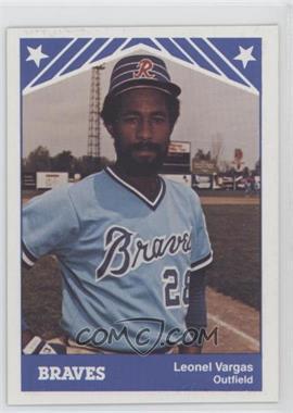 1983 TCMA Richmond Braves #21 - Leo Vargas