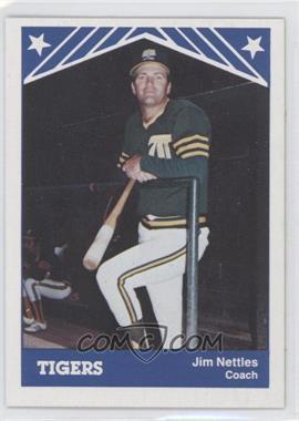 1983 TCMA Tacoma Tigers #20 - Jim Nettles