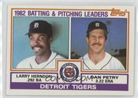 Larry Herndon, Dan Petry