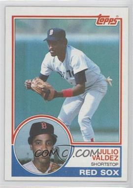 1983 Topps - [Base] #628 - Julio Valdez