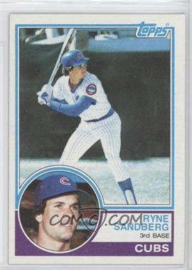 1983 Topps - [Base] #83 - Ryne Sandberg