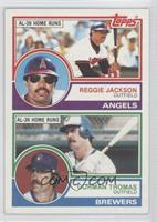 Reggie Jackson, Gorman Thomas