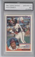 Julio Franco [ENCASED]
