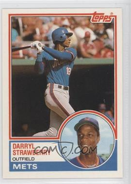 1983 Topps Traded #108T - Darryl Strawberry