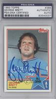 George Brett [PSA/DNA Certified Auto]