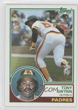 1983 Topps #482 - Tony Gwynn