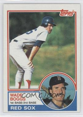 1983 Topps #498 - Wade Boggs