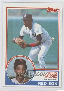 1983 Topps #628 - Julio Valdez