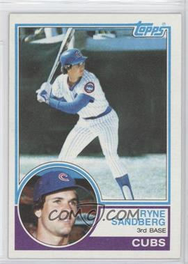 1983 Topps #83 - Ryne Sandberg
