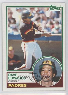 1983 Topps #94 - Dave Edwards