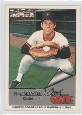 1984 Cramer Pacific Coast League - [Base] #1 - Phil Ouellette