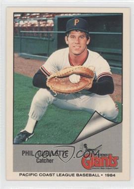 1984 Cramer Pacific Coast League #1 - Phil Ouellette