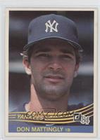 Don Mattingly [Good to VG‑EX]