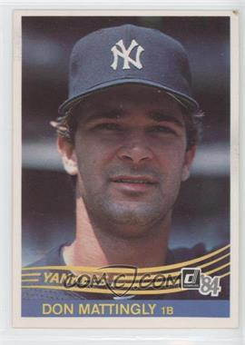 1984 Donruss #248 - Don Mattingly