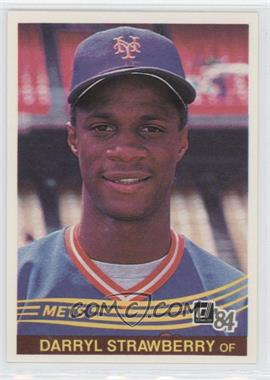 1984 Donruss #68 - Darryl Strawberry
