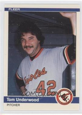 1984 Fleer Update #U-121 - Tom Underwood