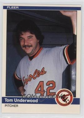 1984 Fleer Update #U-121 - Tom Underwood
