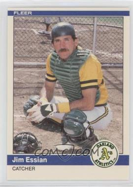 1984 Fleer Update #U-35 - Jim Essian