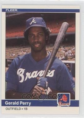 1984 Fleer Update #U-92 - Gerald Perry