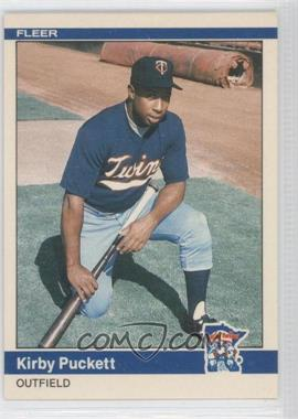 1984 Fleer Update #U-93 - Kirby Puckett