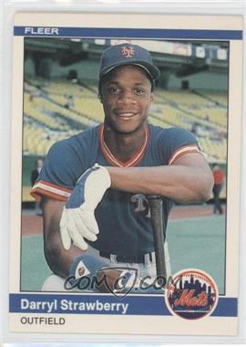 1984 Fleer #599 - Darryl Strawberry