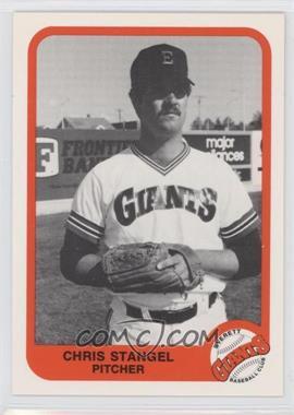1984 Pacific Cramer Everett Giants - [Base] #18 - Christopher Stangel