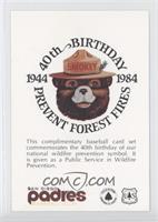 Smokey the Bear Header