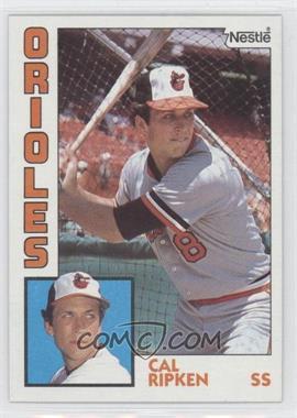 1984 Topps - [Base] - Nestle #490 - Cal Ripken Jr.